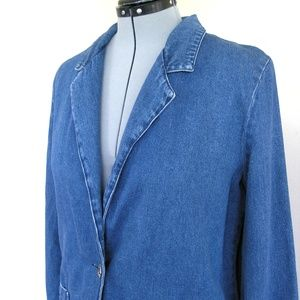 Vintage Joanna denim blazer